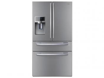 Geladeira/Refrigerador Samsung Frost Free 614L - French Door Inox Dispenser p/ Água e Gelo Look