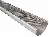 Half Round Hinged Gutter Screen - Gutter Guards
