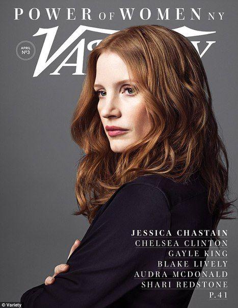 Power of Women: Блейк Лайвли, Челси Клинтон, Джессика Честейн в проекте Variety