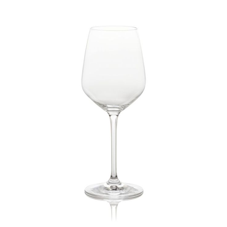 Nattie's tulip-shaped bowls square up just a bit to put a modern angle on classic glassware.  Machine-made to look handcrafted, these glasses are a great value and available in a range of shapes to bring out the best of red, whites and sparkling wines. GlassHand washMade in Slovakia.