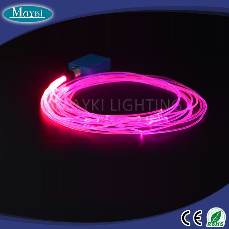 automotive fiber optic lighting
