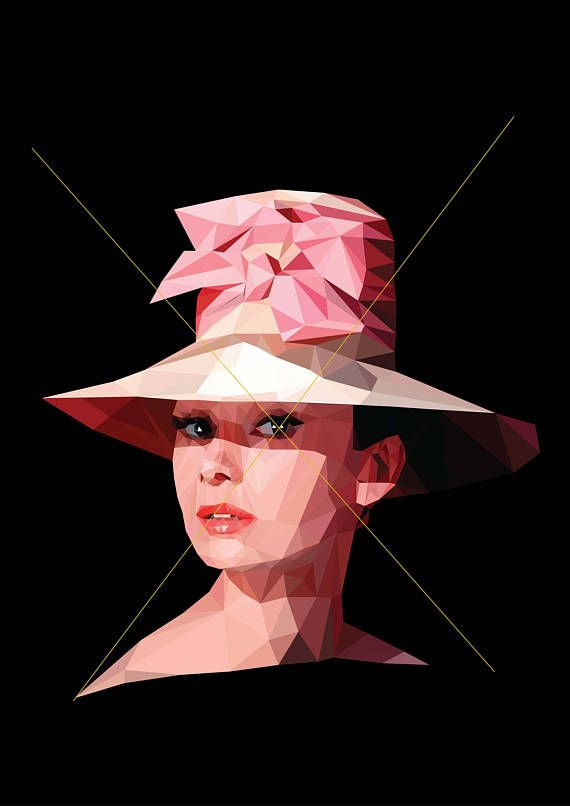 Hey, I found this really awesome Etsy listing at https://www.etsy.com/listing/543771686/audrey-hepburn-wall-art-portrait-poster