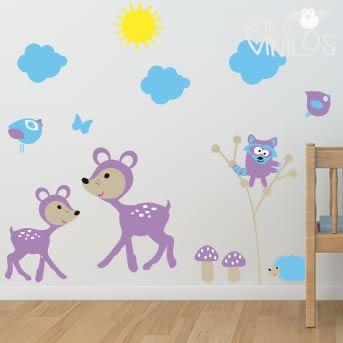 Vinilos decorativos para el cuarto de los chicos! http://www.guiapurpura.com.ar/vinilos-decorativos-para-chicos