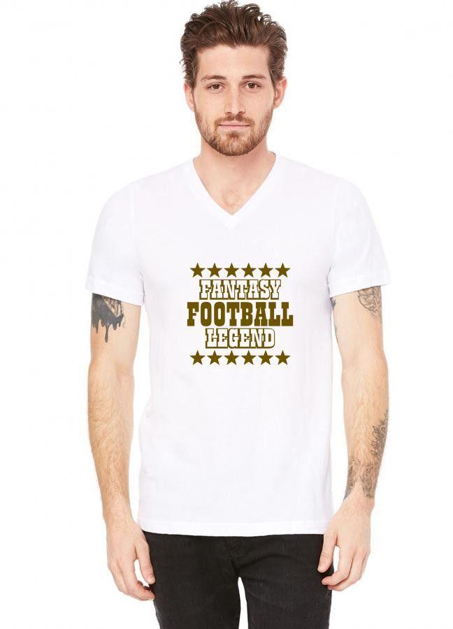 fantasy football legend V-Neck Tee
