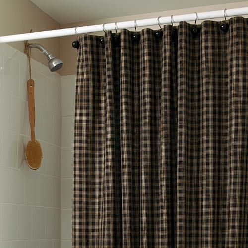 Sturbridge Plaid Shower Curtain | Sturbridge Yankee Workshop