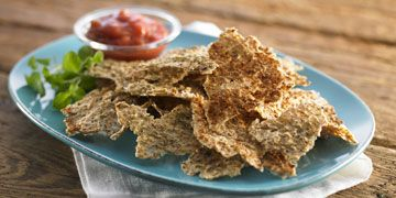 Grødchips Super lækkert alternativ til chips og så er de sunde :)