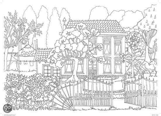 82 Besten Coloriage Jardin Bilder Auf Pinterest