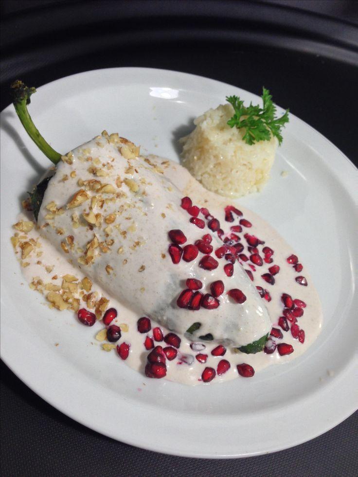 Chile enogada restaurant @ricardos. Rosarito
