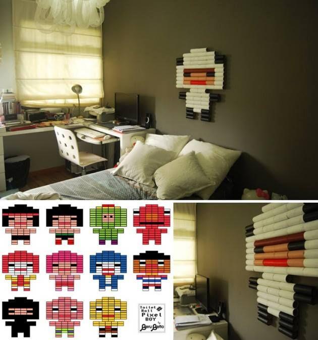 Do It YourselfCreative DIY Toilet Paper Roll Wall Art