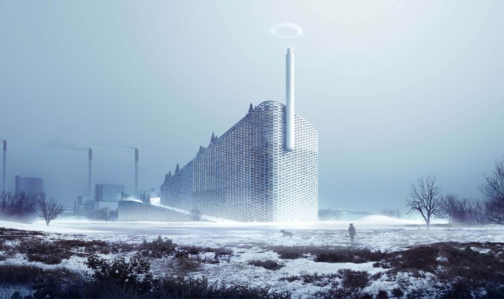 Bjarke Ingels On The Future Of Architecture   Power plant that doubles as a ski slope in Copenhagen.