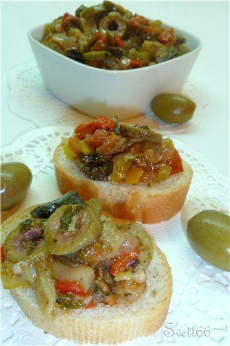 КАПОНАТА - знаменитая итальянская закуска. Кулинар.ру – более 100 000 рецептов с…