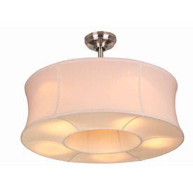 drum light with ceiling fan inside!