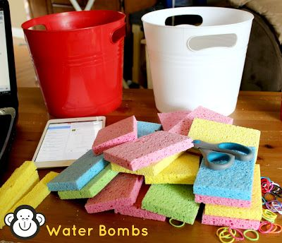 Canada Day Party Prep: Water Bombs! {From create.craft.love}