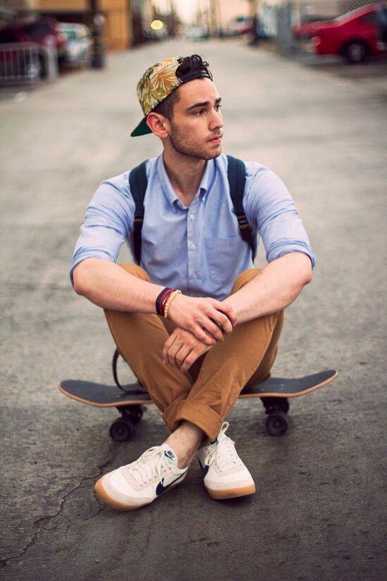 #Hipster #Men #Skate