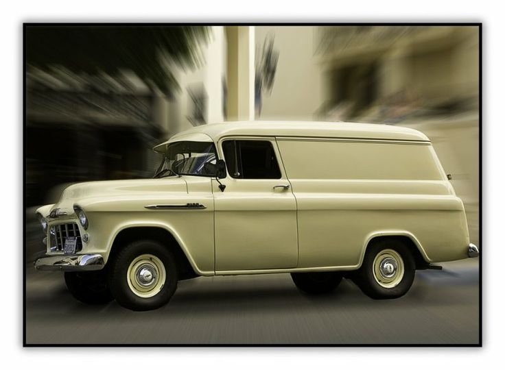 '56 Chevy Panel Truck