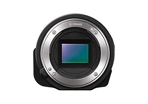 Sony ILCE-QX1 Lens Style Camera for Smartphone with Free Angle Shooting Kit (20.1MP)