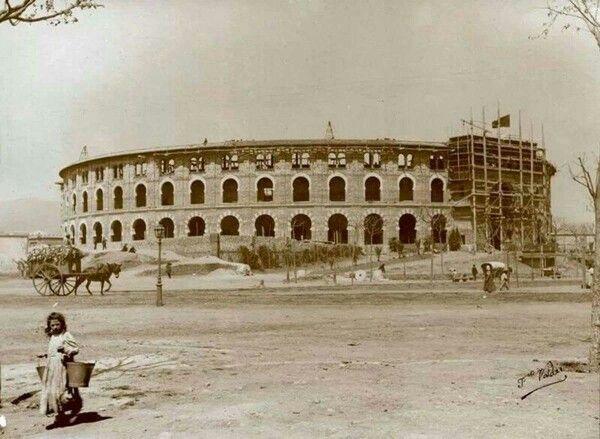 LAS ARENAS, INAUGURADA EL 29 DE JUNY DE 1900, PLAÇA ESPANYA, BARCELONA