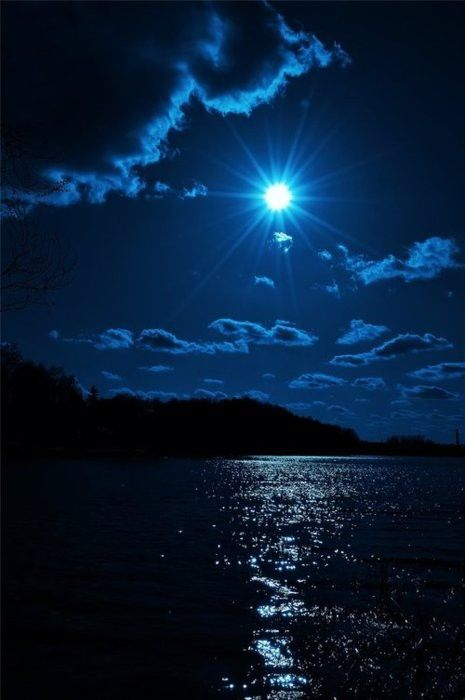 17 Best images about MOONLIGHT OVER WATER on Pinterest