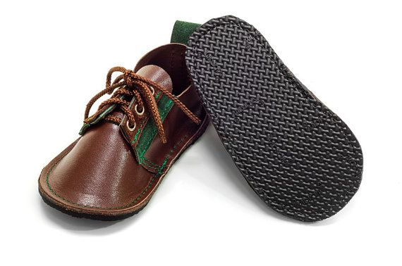 Hand made leather childrens shoes by PiciPapucs on Etsy, $48.00