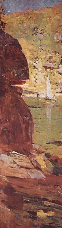 Arthur Streeton Sydney Harbour 1895