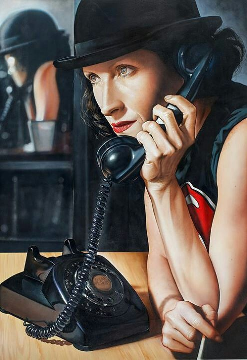 Acrylic painting by Victor Rodriguez.