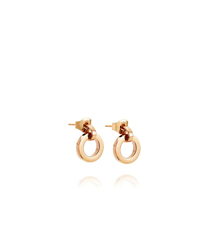 Efva Attling - The Ring Earrings Gold  $1,070. Earrings in gold with movable ring.