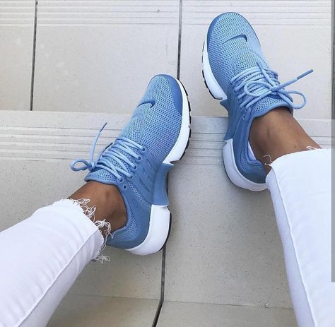 Nike Air Presto in blau/blue // Foto: dzsakina (In…