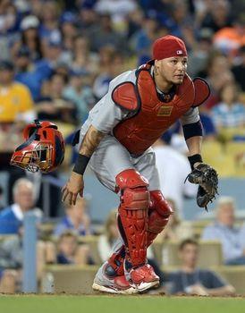 catcher Yadier Molina 2014