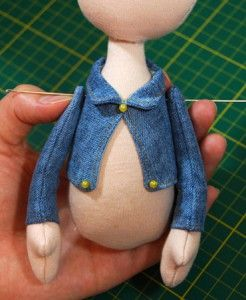 Jacket puppet