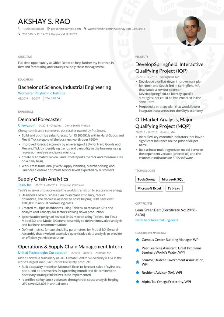 Engineering Resume Examples and Skills You Need to Get