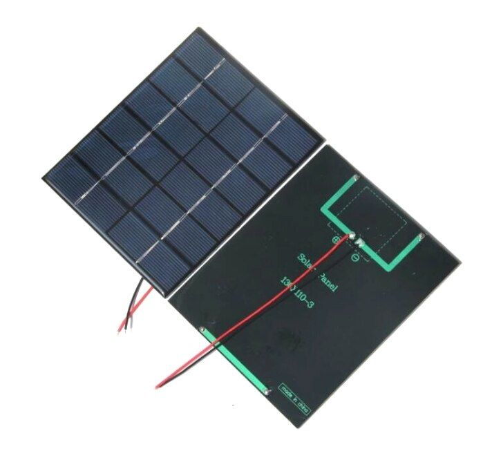2w 6v Epoxy Solar Cell Polycrystalline Solar Panel Module With Cable Diy System Solar Charger For 3 7v Battery 2pcs Di 2020