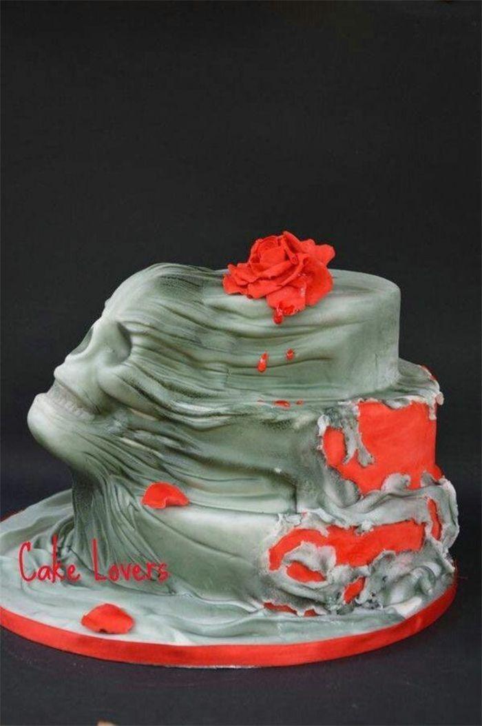 Idées déco citrouille Halloween décoration gâteau