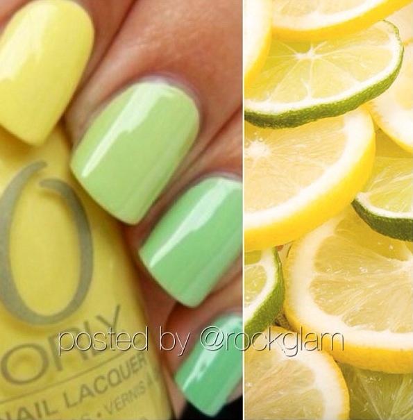 Summer nails-yaz tırnakları
