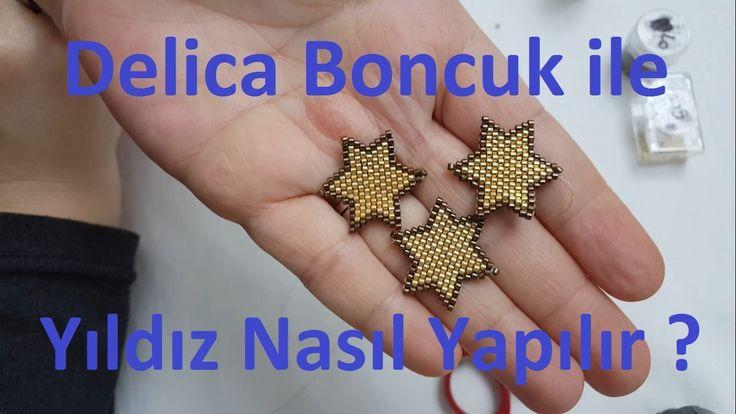 Delica boncukla yıldız nasıl yapılır ?