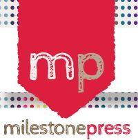 Logo for Milestone Press | Piece x Peace