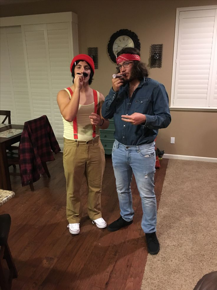Cheech and Chong funny Halloween costume