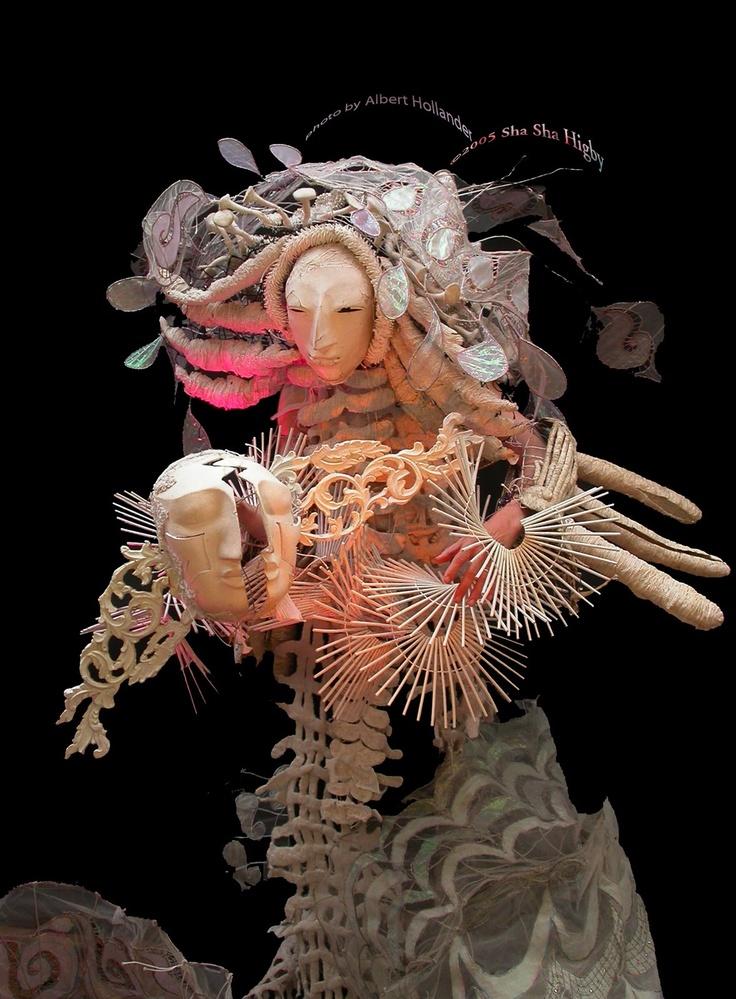 Sha Sha Higby moon puppet ♥