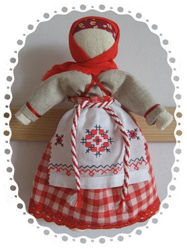 Russian textile doll