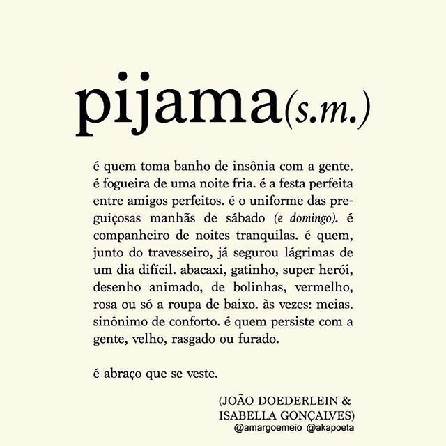 #repost da madrugada! Noite e pijama, tudo a ver! (: