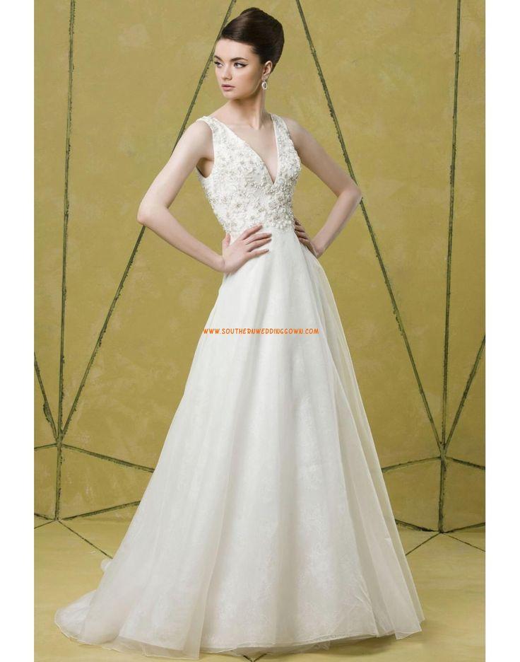 Tulle Brillant & Séduisant Broderie Robes de mariée 2014