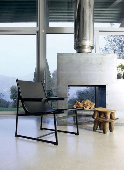 small seating areas with fireplaces
