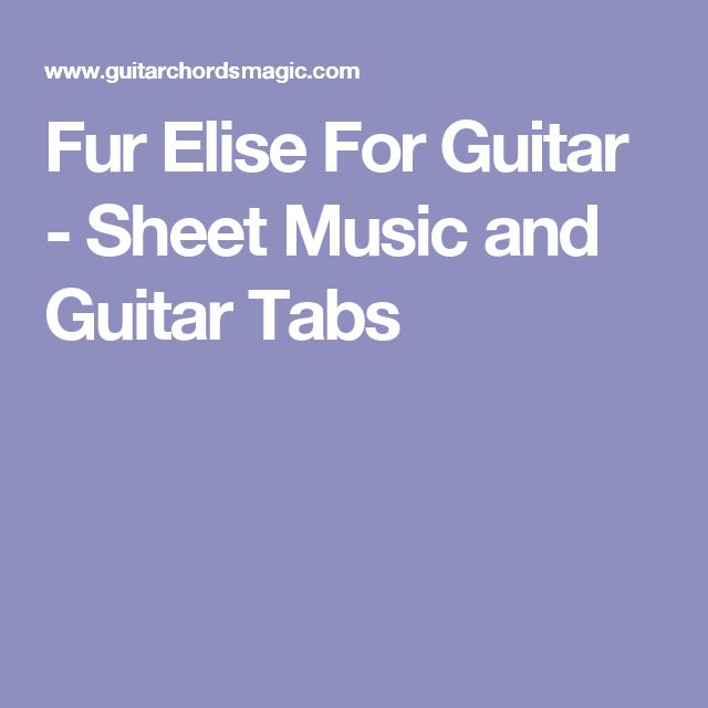 fur elise piano sheet pdf