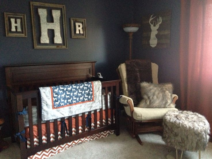Boy rustic nursery