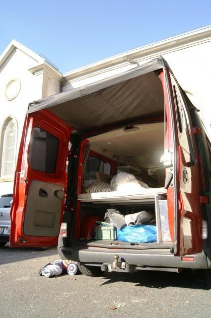 les 25 meilleures id es de la cat gorie auvent camping car sur pinterest camion avec auvent. Black Bedroom Furniture Sets. Home Design Ideas