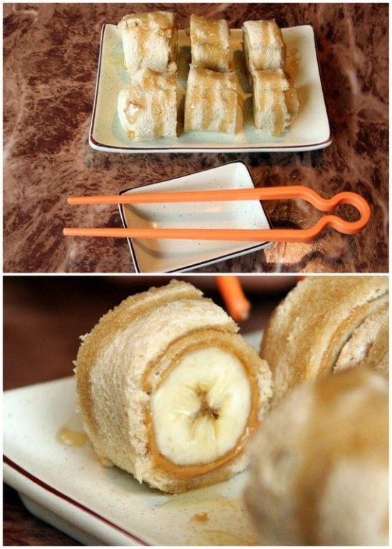 banana sushi roll