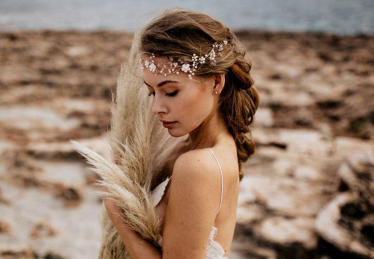 """Haarschmuck & Kopfputz - Haarband Halo """"Marie 1"""" Haarschmuck La Chia - ein Designerstück von LaChia bei DaWanda"""