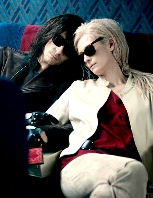Tom Hiddleston as Adam. Only Lovers Left Alive. I haven't seen it but if you have comment on what you thought of it!