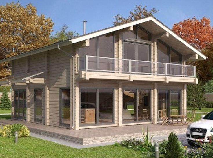 58 best Log Home Exteriors images on Pinterest Log homes