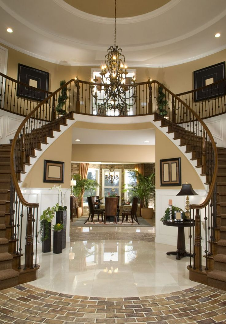 Best 25 Two Story Foyer Ideas On Pinterest 2 Story Foyer Entry Stairs And Mill Work