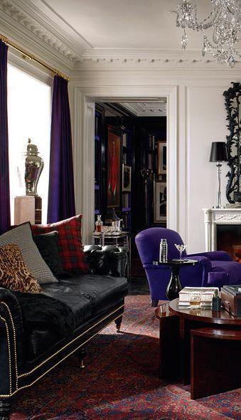 Rosamaria G Frangini | Architecture Interior Design | Ralph Lauren | Apartment No. One Collection